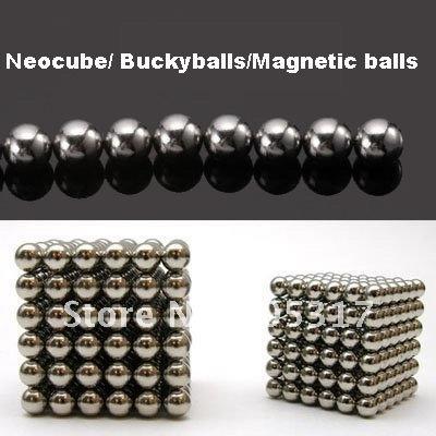 Неокубы, Кубики-Рубика Silver 216pcs/set D3mm NEOCUBE BALLS MAGNETIC NEO NEODYMIUM CUBE MAGNET BALLS