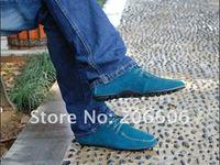 Мужская обувь на плоской платформе 2013 new hot men casual shoes high quality cow leather shoes