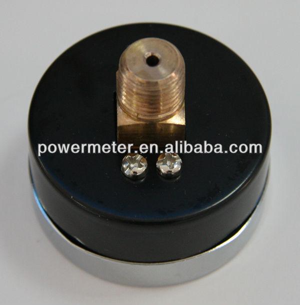 ( y-- 50z) 50mm magnehelic قياس الكروم يغطي الظهر
