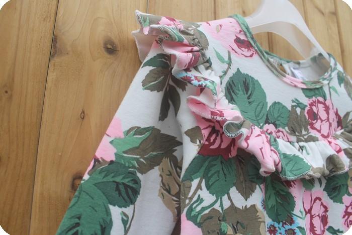 Meninas vestir новые складки регулярные цветочные рождественские специальное предложение весной baby девочки платье Лонг slevvd дети