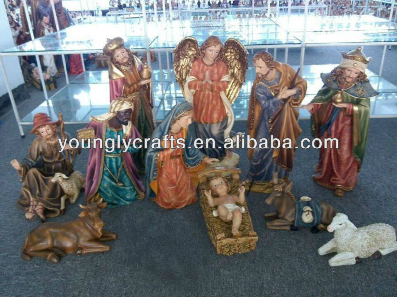 "48"" Christmas Nativity Set Large Figurines 11/S Live Size Style"