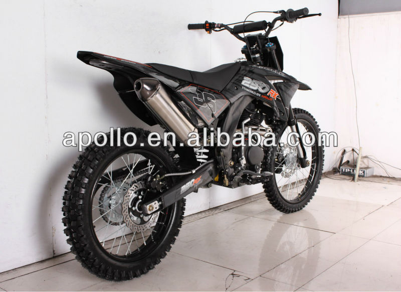 China Apollo ORION EPA air cooled 250cc off road dirt bike 250CC Dirt bike AGB38-2
