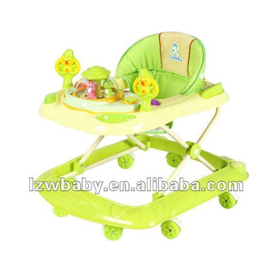 Blue graco baby walker walker car ( model:236)