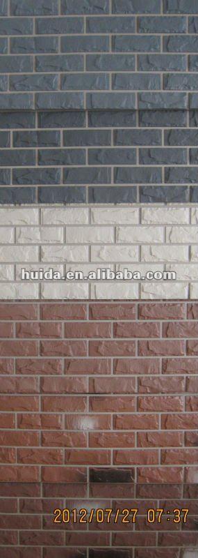 vida faux brick exterior wall panel model vd100101 color