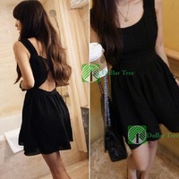 [DollarTree] New Fashion Women Backless Cross Suspender Lace Dress Skirt 306 Better Price