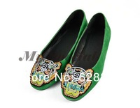 New 2013 Fashion Women Shoes Flat Tiger Head Acumination Flattie Shoes Ladies' Flats Shoes Women's Ballet Flats Shoes15829