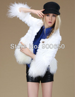 Best of The Year Real Rabbit fur AND Mongolian Fur Luxurious New Winter Coat With Layered Design And  Tassels Decoration