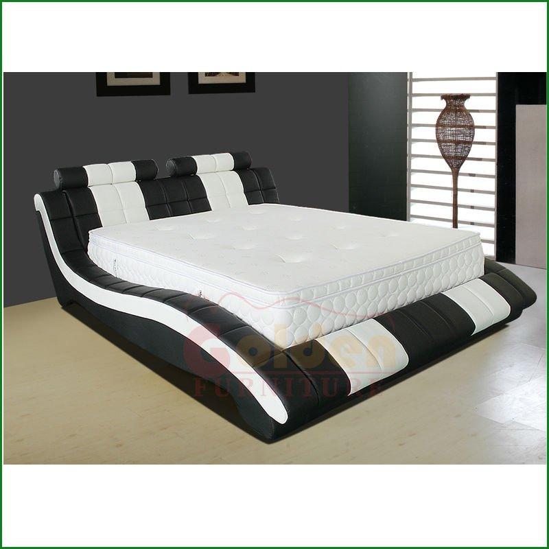 Te negro y blanco único de cabeceros de cama-Camas-Identificación ...