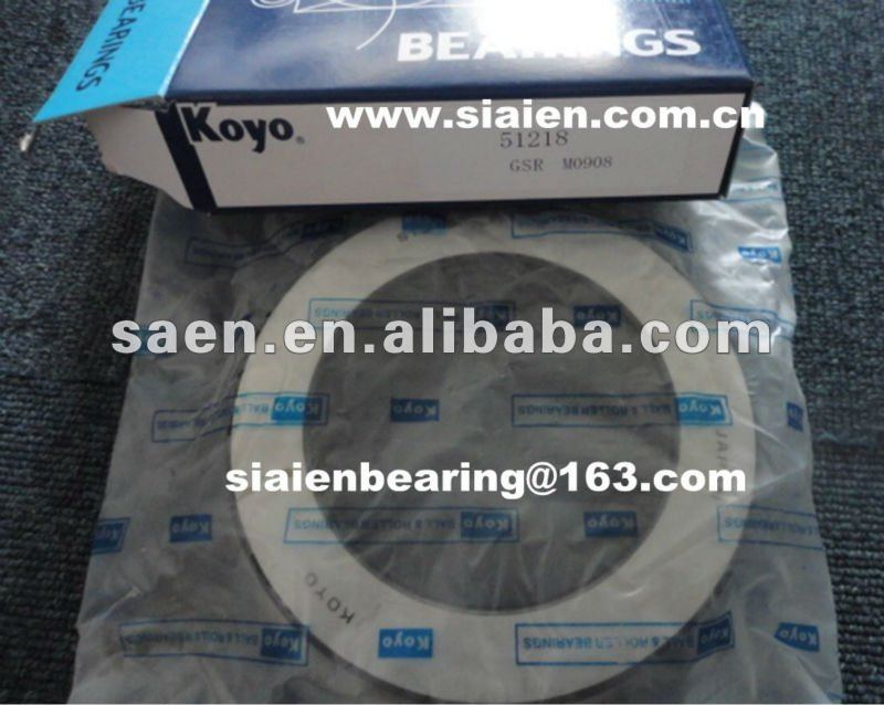 2013 KOYO ball bearing 51208