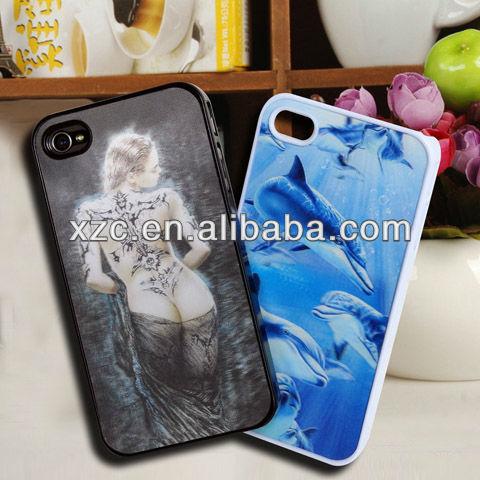 Original unlocked 3D mobilephone case for iphone 4/4s