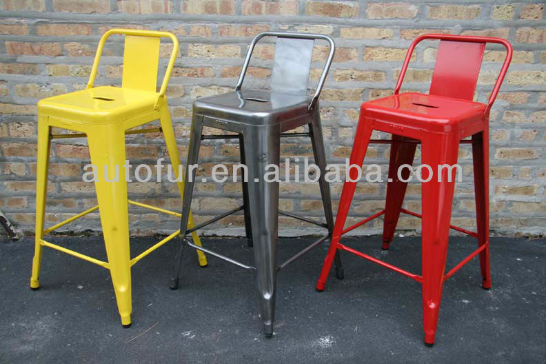 Alibaba manufacturer directory suppliers manufacturers exporters importers - Tolix low back bar stool ...