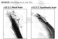 хвост волос прямой лентой хвост волос черный 110g