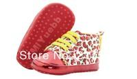 Пинетки 0226! leopard Beautiful children's shoe gold leopard Baby Shoes color leopard soft sole baby shoe, 2 colors, Retail