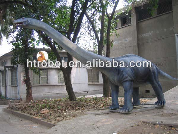 Amusement park simulation mechanical dinosaur
