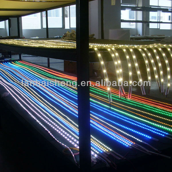 ws2812b 60pcs/m,5050 smd 5m /roll, waterproof smd flexible led strip ,with CE,ROHS approval
