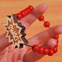 GOOD WOOD  Hip-hop culture beautiful wood bead bracelets