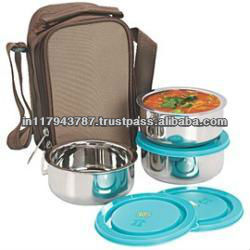 Stainless Steel Tiffin Travelling kit bag