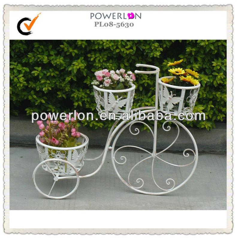 Подставка для цветов в виде велосипеда своими руками