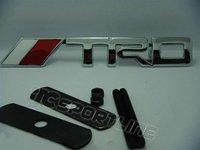 TRD фронт гриль знак логотип наклейки 3d Эмблема автомобиля наклейку