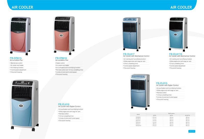 mobile air conditioner fan(10Liter, remote control)