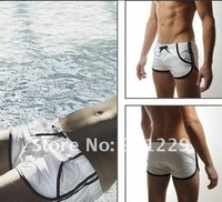 Одежда и Аксессуары Man's Swimming Swim Trunks Shorts Slim Super Sexy Swimwear Pants has Pocket Size M L 3 colors Very Cool