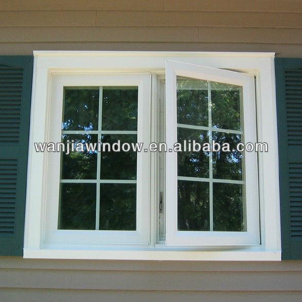 Wanjia Factory Popular Design French Style Casement Window