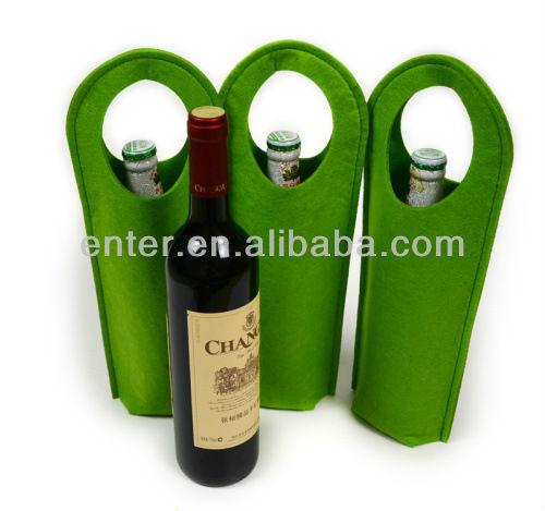 Sell felt wine bottle bag / felt tote bag / felt package bag