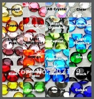 Стразы для одежды 15 off per $150 order s 55colors! 14400pcs 6ss-2.0mm MIX 10 colors rhinestone nail art rhinestone SS6