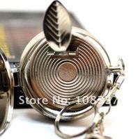 10x mini portable metal cigarette ashtray pocket ash tray with keychain free shipping