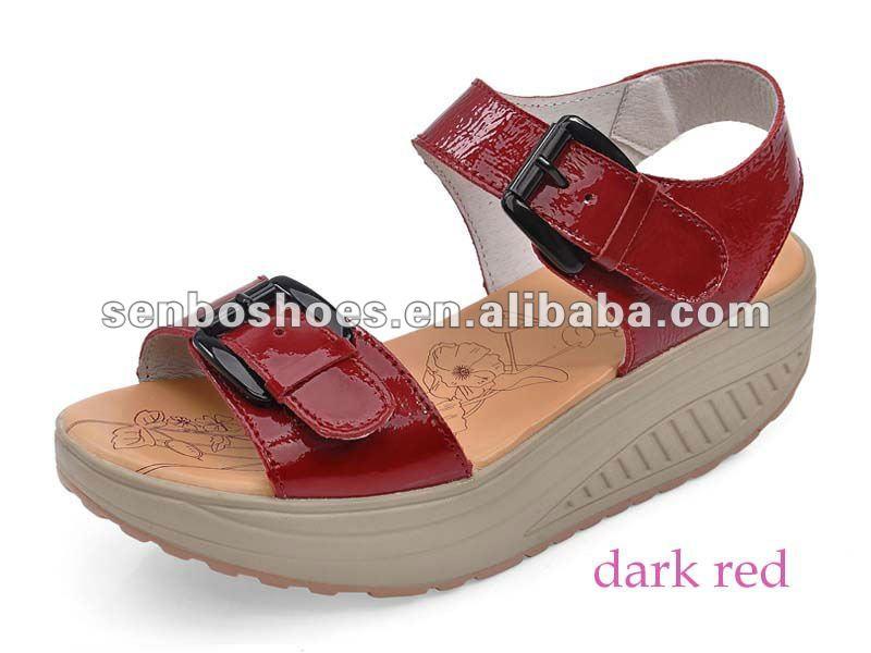 À talons hauts chaussures dame sandales santé sandales casual chaussures
