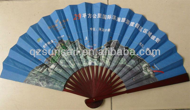 black plain paper hand fans for wedding favors