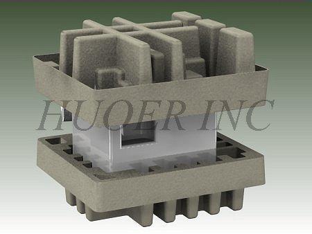 Hospira Medical Equipment in molded pulp endcaps-large