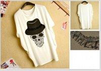 Женская футболка 0086top] /2colour /T461