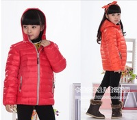 Authentic girls boys down jacket small cuhk TongBaoBao winter coat thickening tank free postage