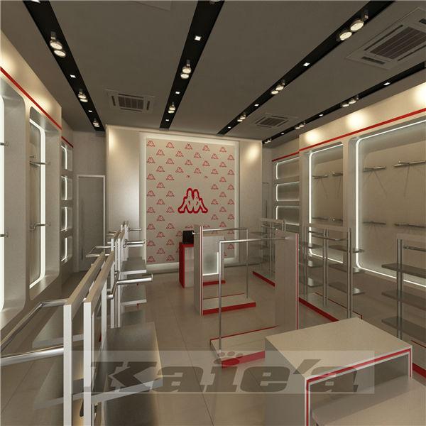 Modern unique retail store interior design view retail for Retail interior design firms