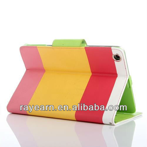 high quality smart cover for ipad mini cover,classical covers for ipad cover ,leather for ipad case with high quality