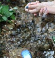 стирка уборка ванной ремесло бумаги лепестки форму рука мыла/подарок/свадьба любимый/путешествия/легко носить с собой