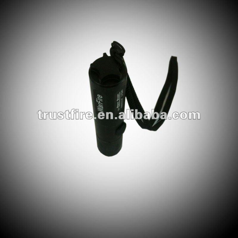 TrustFire good quality and high brightness 3 watt cree led flashlights(1*16340)