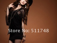 Платье на студенческий бал 2012 spring clothing sexy dress night dress shop temptation mesh hip bag hip dress