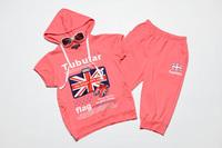 Комплект одежды для девочек New Fashion Kid's Clothing Sets with Flower Print Design Girls Beach Jumpsuits, K0382