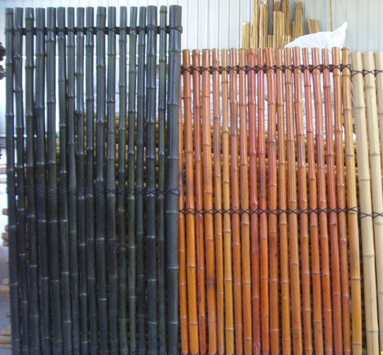 cerca para jardim alta : cerca para jardim alta:Natural cerca de bambu / colorido cerca de bambu / alta qualidade