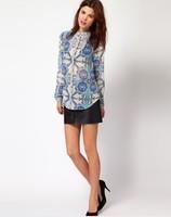 Женская одежда Lady personality printing shirt, fashion shirt