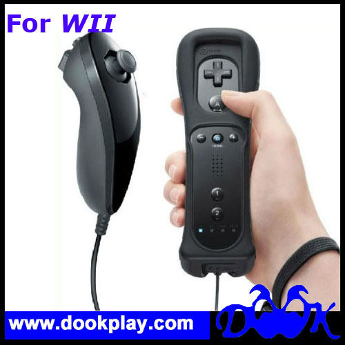For Wii Remote and Nunchuck Controller --- Pink