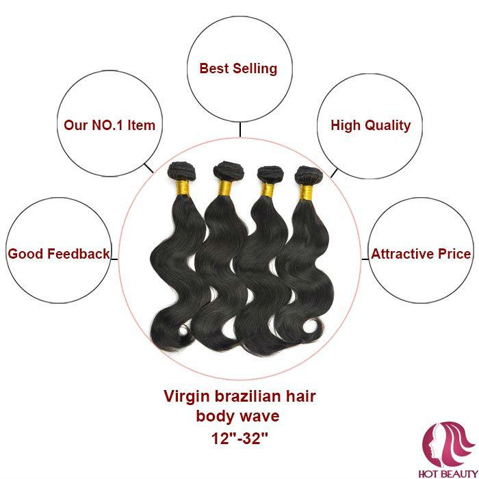 """100% Human Hair Long Hair Bulk, Wavy Hair Bulk,24"""" Bulk Hair For Braiding"""
