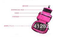 220pcs/много Мате мыть сумка - бизнес путешествия туалетные наборы хранения Косметическая Сумка с крючком 4 цвета