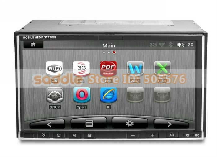 2 Din Android Car PC with wifi 3G GPS DVD TV (3)
