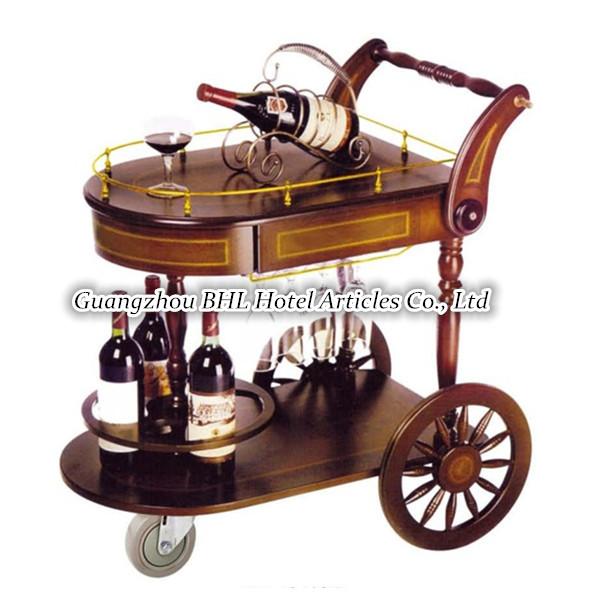 h tel fournitures vintage pour servir du vin chariot. Black Bedroom Furniture Sets. Home Design Ideas