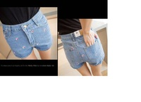 Женские шорты Female Summer Denim Shorts Pants Fashion Women Leisure Pants 00124