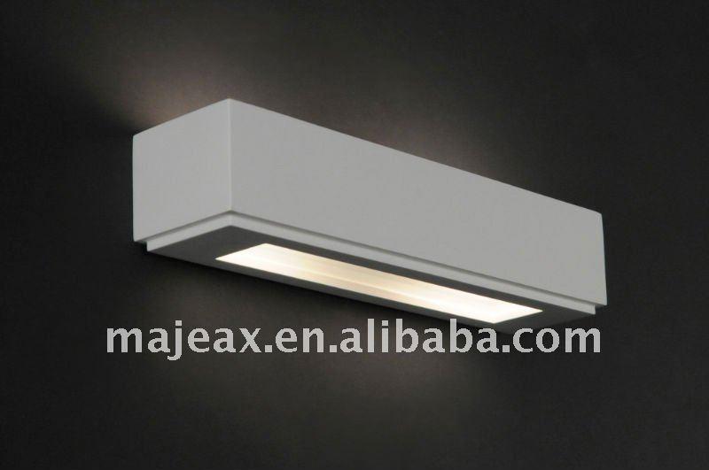 2013 Modern Decoration Paintable ( Plaster Lamp Body +metal Bracke ...