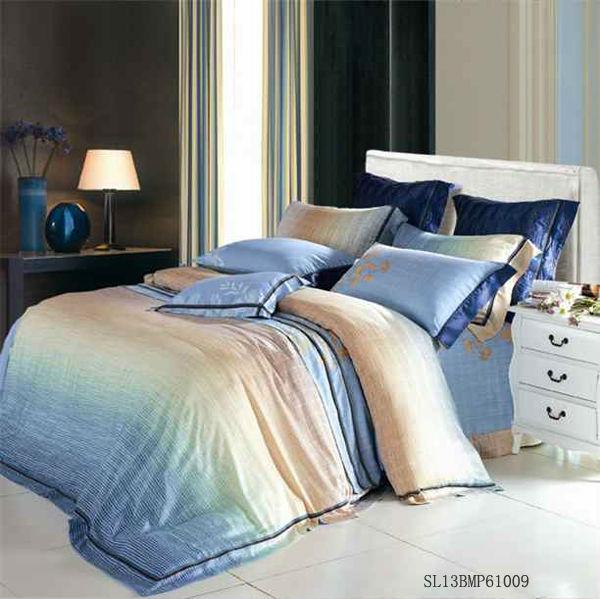 Belle modale impression drap de lit housse de couette for Housse de couette ou couvre lit